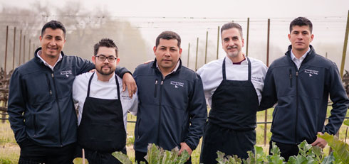 Estate Culinary Team 2018