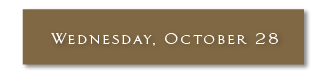 Wednesday, October 28, 2020